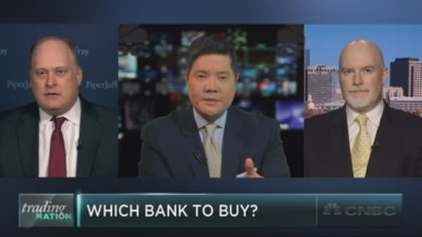 Which bank to buy ahead of earnings?