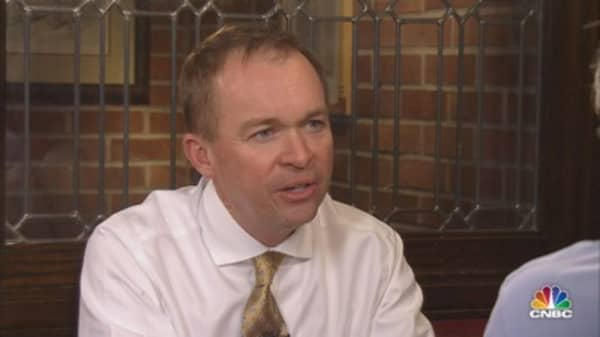 Mulvaney: White House staff gets along better than GOP house