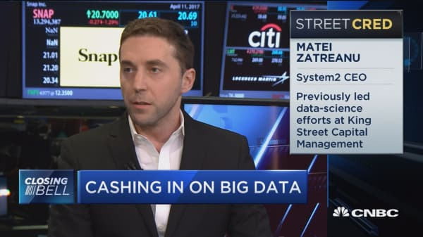 Hedge funds turn to big data investing