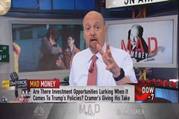 Cramer rethinks the 'Trump trade,' and the result is not very bullish