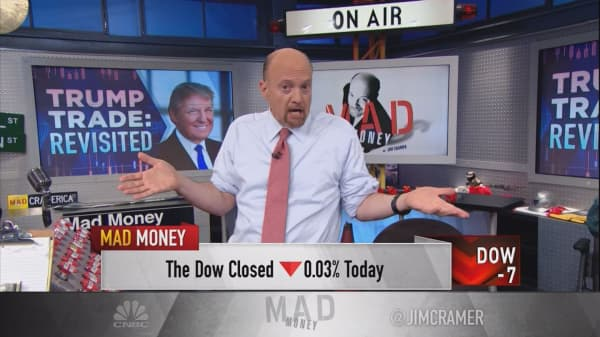 Cramer rethinks 'Trump trade' and and isn't very bullish