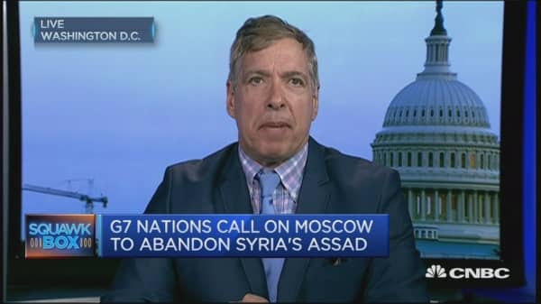 'Russia has an enormous stake in the Assad regime'