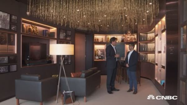 There's more than $700,000 worth of whisky in this room