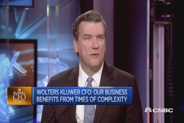 AI becoming more important in our products: Wolters Kluwer CFO