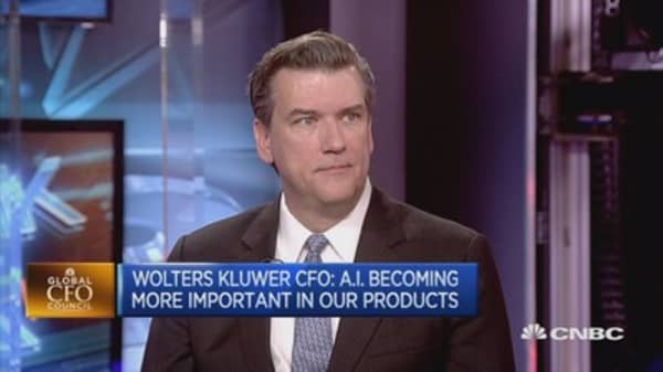 Uncertainty Is Good For Business Says Wolters Kluwer Cfo