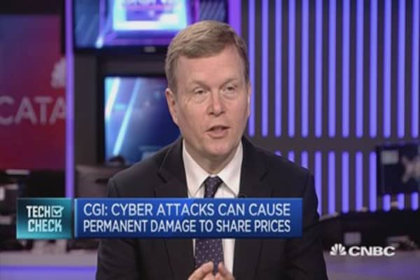 Cyber-attacks can wipe 15% off company valuations: CGI