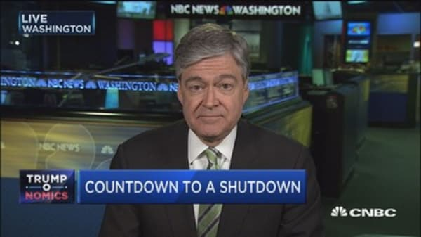 Mulvaney: Chances of a government shutdown very low