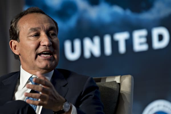Oscar Munoz, chief executive officer of United Continental Holdings Inc..
