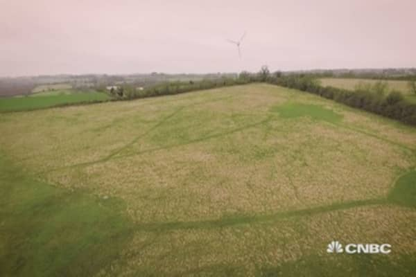Turning grass into green gas