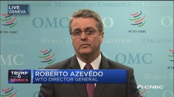 WTO Director: We need a more open environment for trade