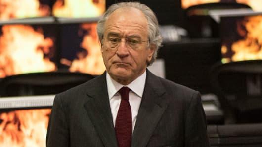 """Robert De Niro in """"The Wizard of Lies."""""""