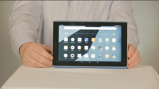 CNBC: Fire HD 10