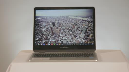 CNBC: Samsung Chromebook Plus