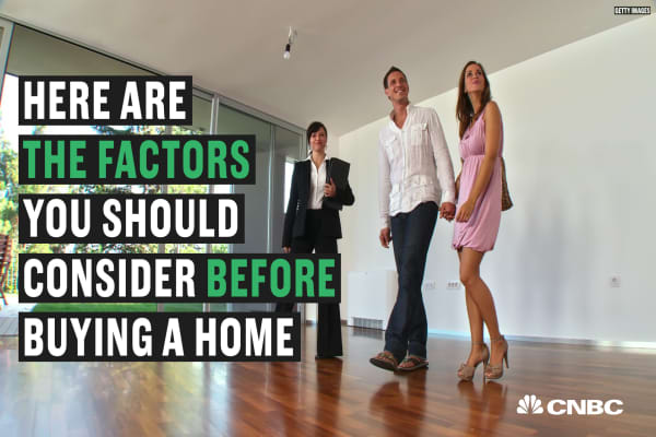 The factors you should consider before buying a new home