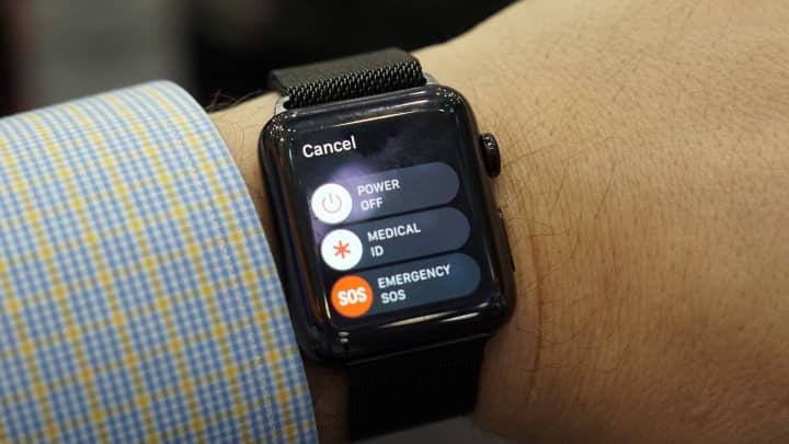 CNBC: SOS Apple Watch