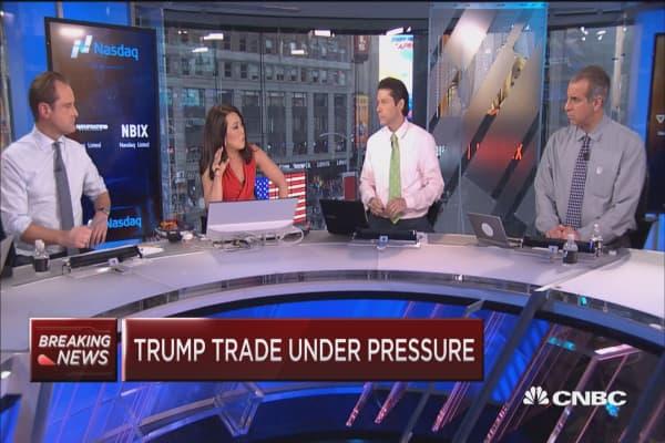 Trump trade in trouble?