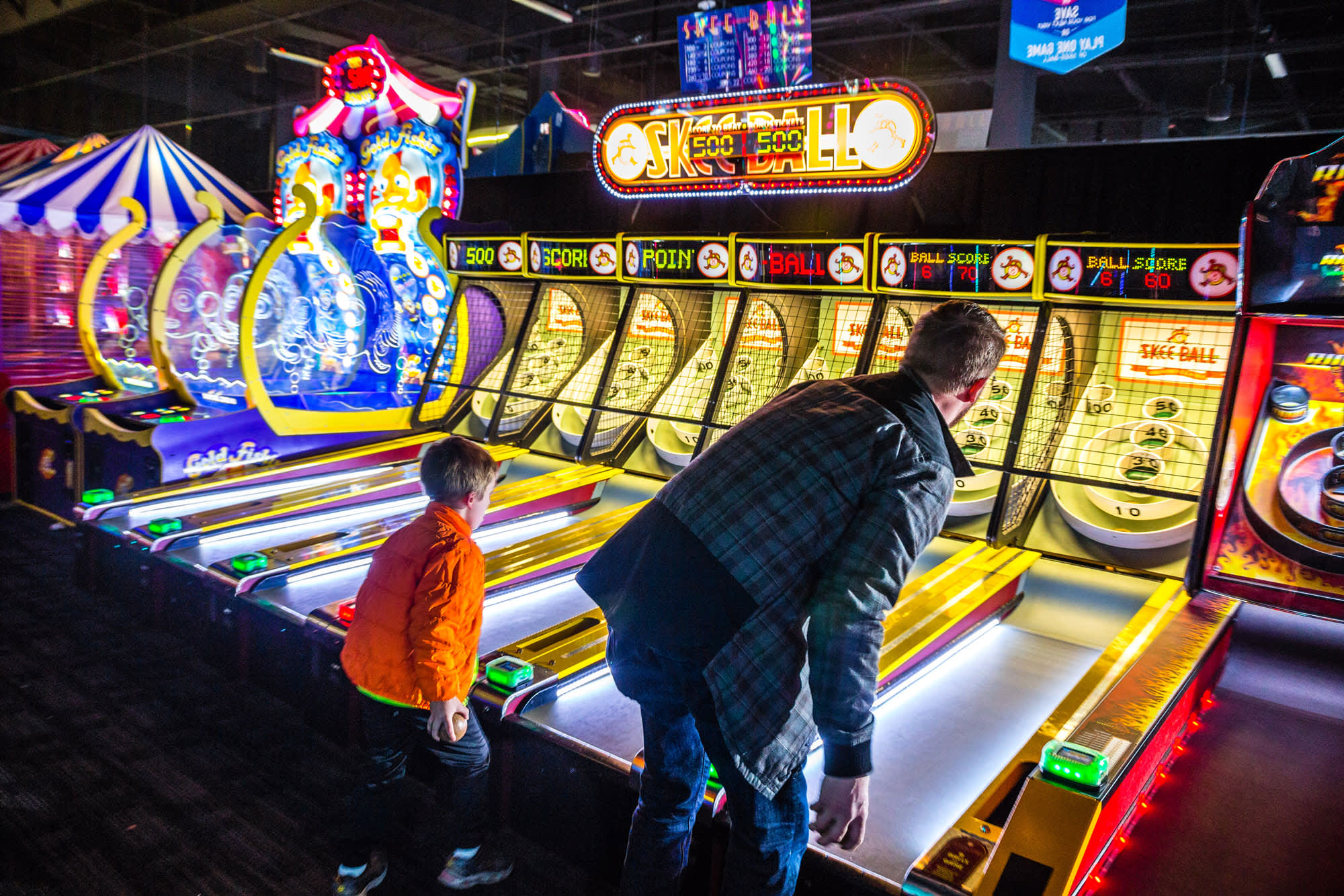 Dave & Buster's is one way malls are filling all those empty Sears