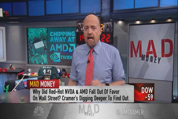 Cramer investigates why AMD and NVDA's stocks just got rattled