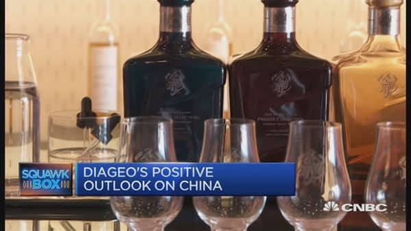 China's appetite for whiskey
