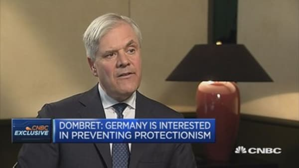 Protectionism harms everybody, doesn't increase welfare: Bundesbank Dombret