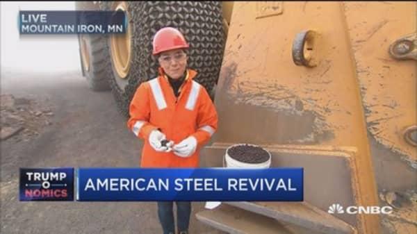 Trump's pipeline promise includes US steel