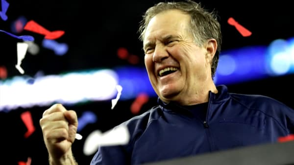 Here's why Bill Belichick re-watches his Super Bowl victory