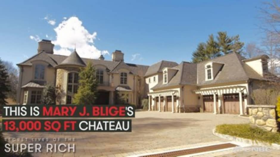 See inside Mary J. Blige's $8.88 million chateau