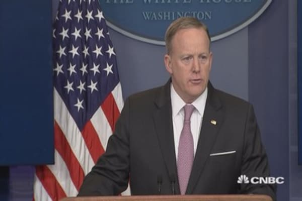 White House press secretary details use of 'mother of all bombs' in Afghanistan