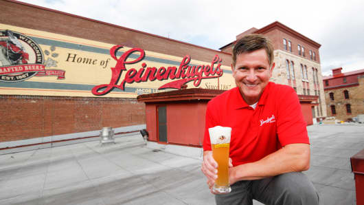 Dick Leinenkugel, President, Jacob Leinenkugel Brewing Company.