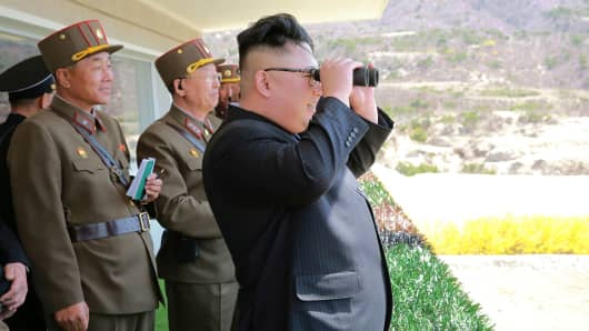 North Korea conducts test of rocket engine that could power an ICBM