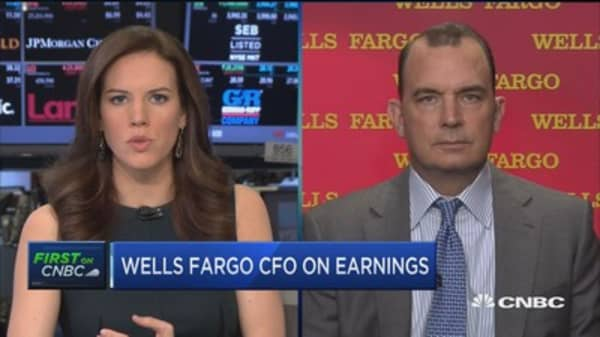 WFC CFO: Sales practices probe weighed on earnings by about $80 million