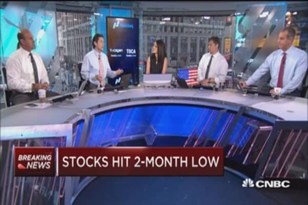 Global jitters hit stocks