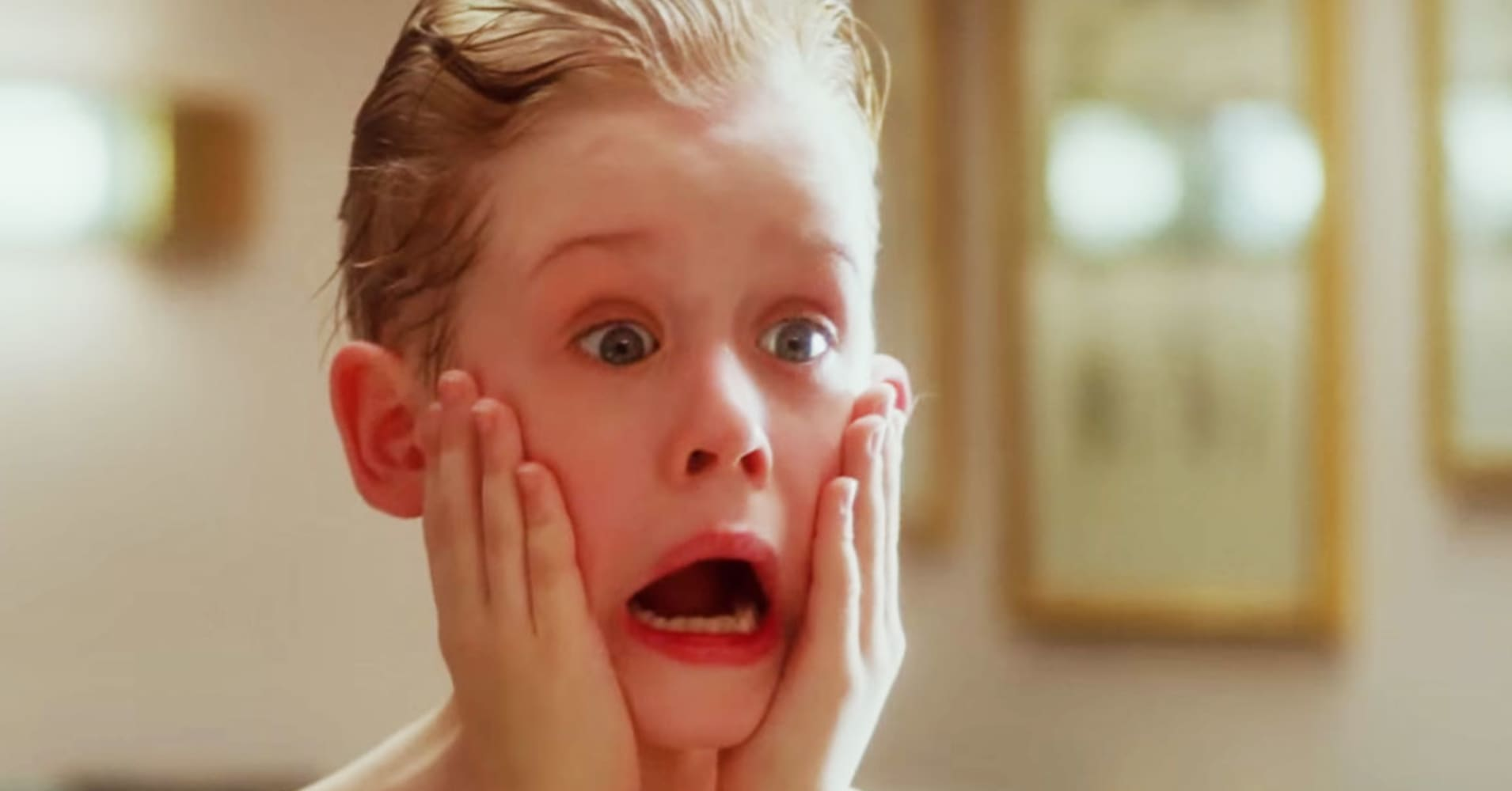 "An image from the movie ""Home Alone."""