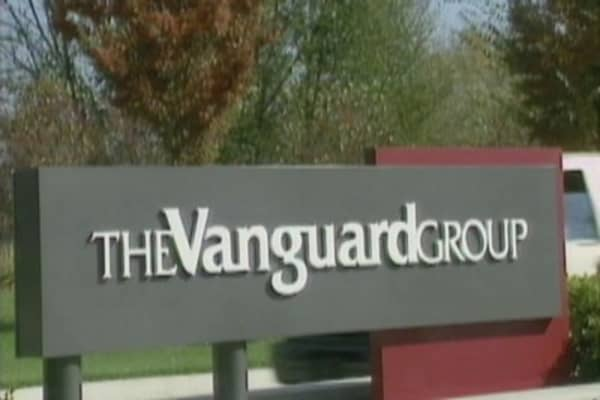 Vanguard beating its competitors by a long shot
