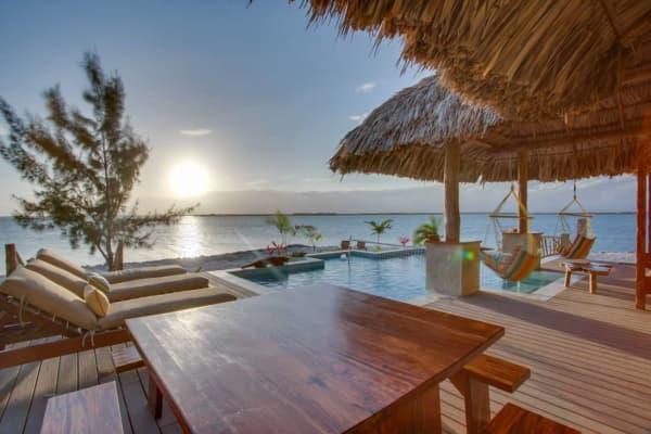 Little Harvest Caye, courtesy of Private Islands Online