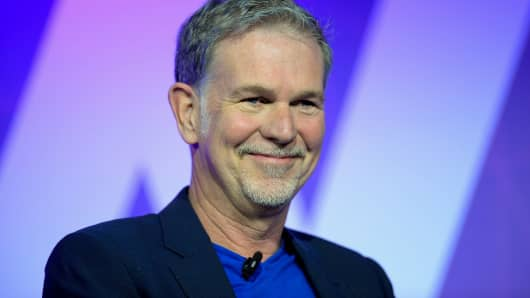Reed Hastings, chief executive officer of Netflix