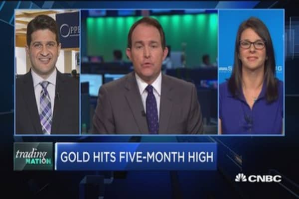 Trading Nation: Gold hits 5-month high