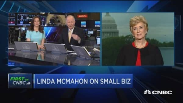 McMahon: I'd like to help small businesses live the American dream