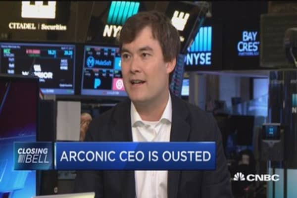 Arconic CEO is ousted