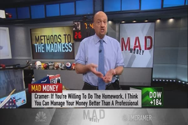 Cramer unveils his secret method to picking a stock