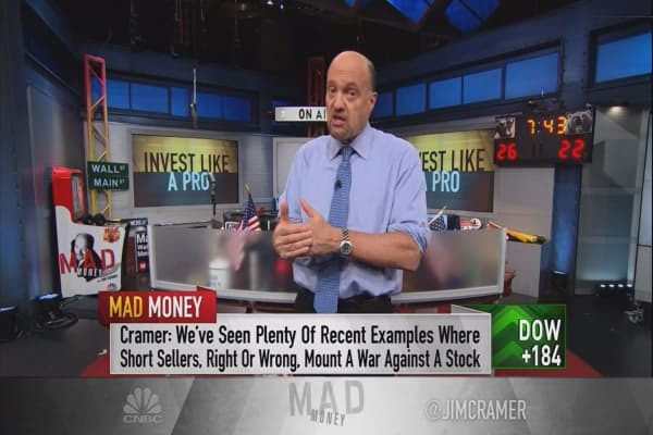 Cramer explains the explosive combination that signals a raging buy