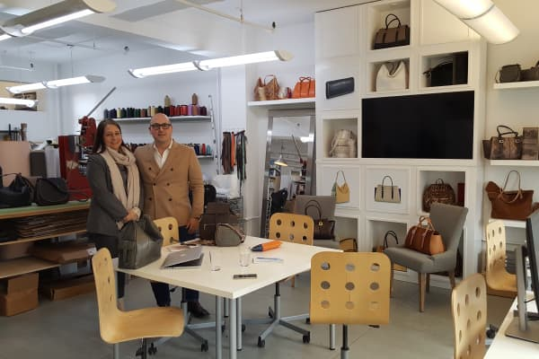 1 Atelier co-founders Stephanie Sarka and Frank Zambrelli