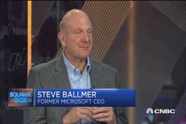 Steve Ballmer: Unraveling government big data
