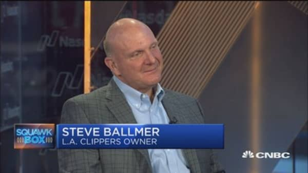Steve Ballmer: Microsoft's cloud position is 'not a birthright'