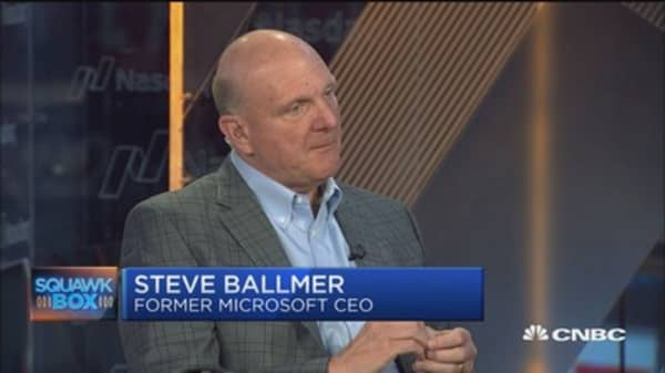 Steve Ballmer: I 'fire off' product feedback to Nadella