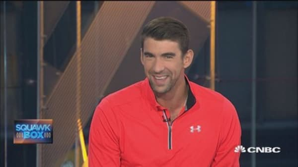 Michael Phelps says he's going to 'dabble' in stock market