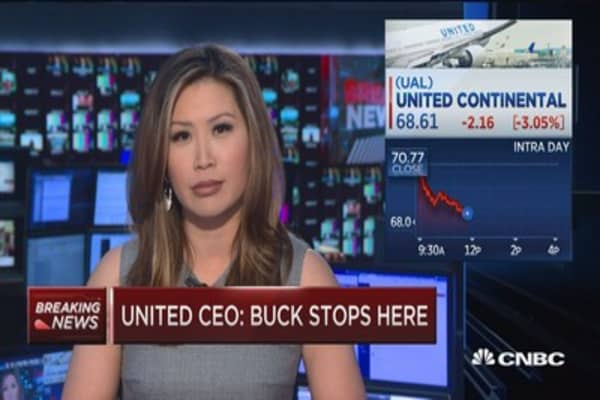 United CEO Munoz: The buck stops here