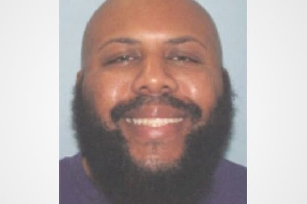 This undated photo provided by the Cleveland Police shows Steve Stephens. Cleveland police said he is a homicide suspect, who recorded himself shooting another man and then posed the video on Facebook on Sunday, April 16, 2017.