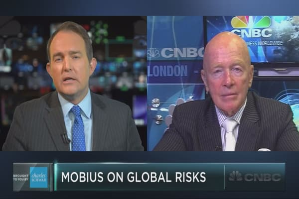 Mark Mobius on global investment risks