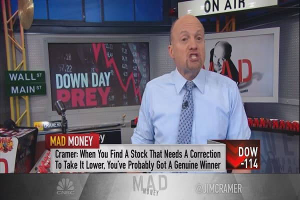 Stocks that become money magnets during a correction